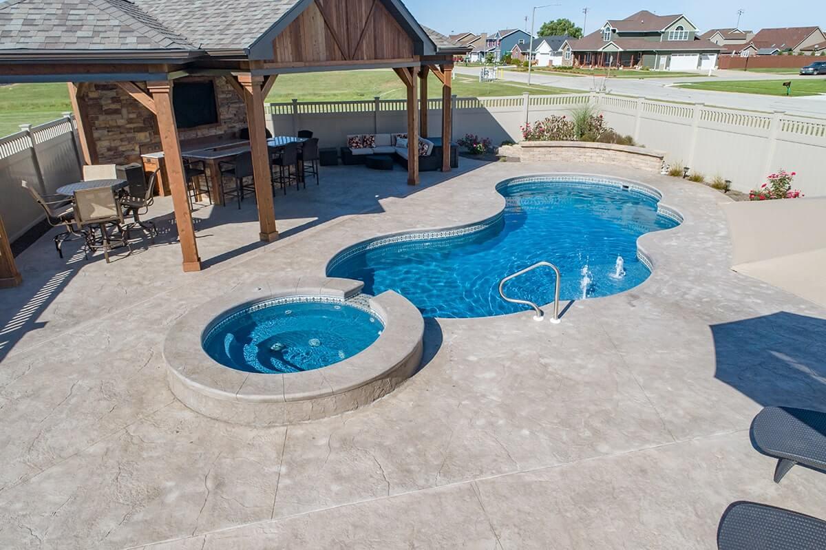 Fiberglass Pools Wilmington | Inground Pools Morris Pool ...